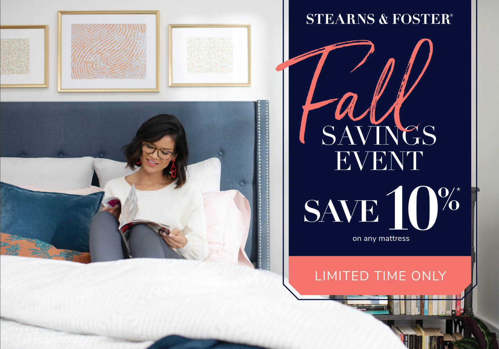Stearns & Foster Fall Savings Event